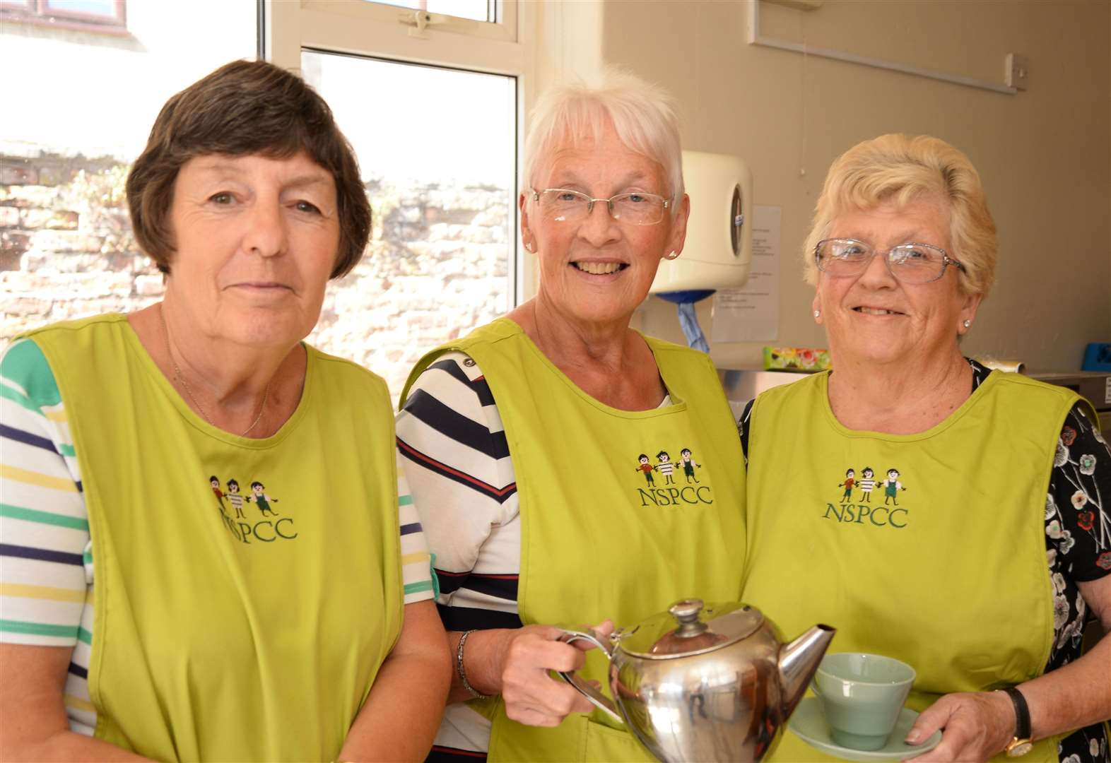 Teatime treats prove popular at Bourne table top sale
