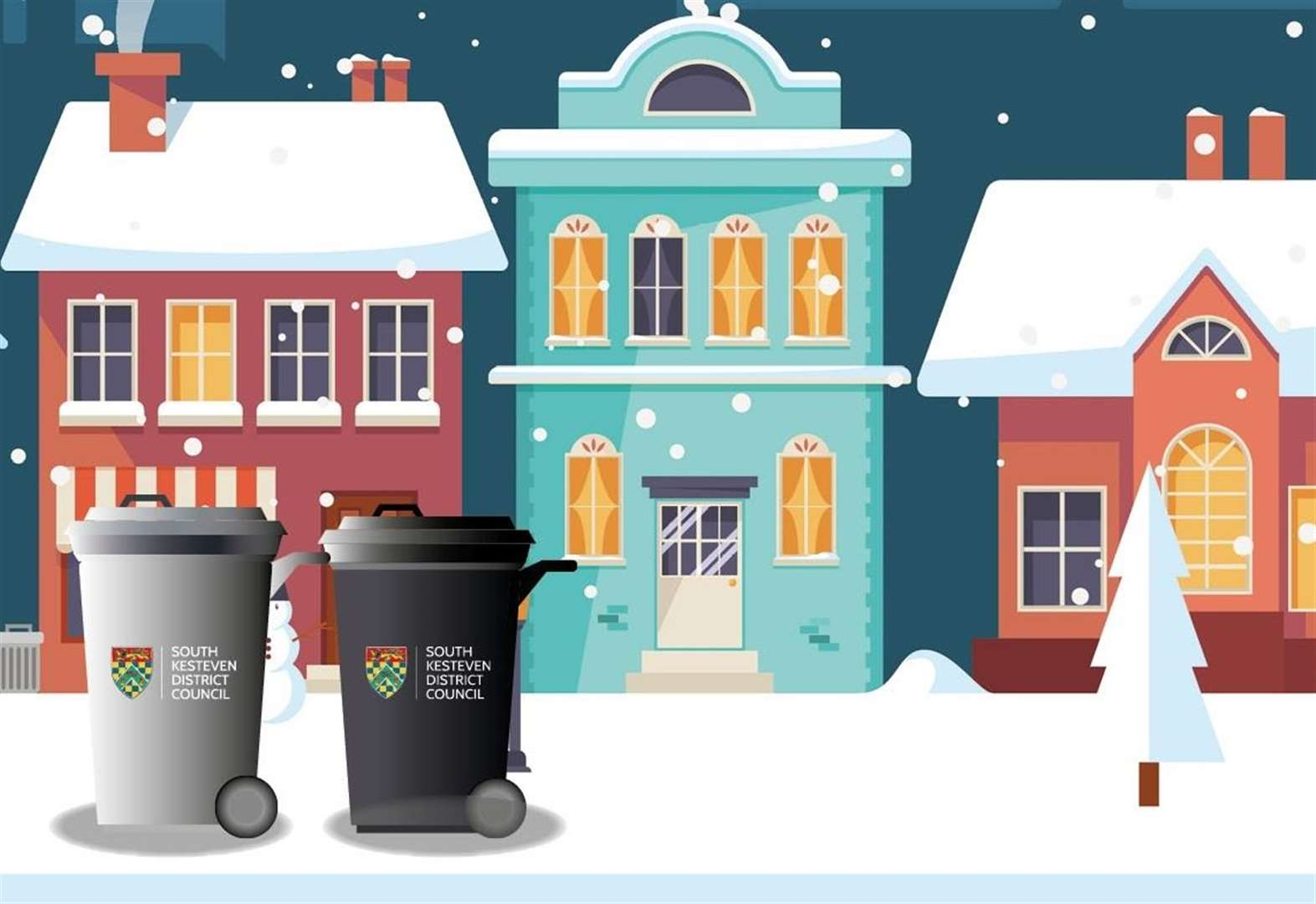 Changes to bin collections over Christmas and New Year