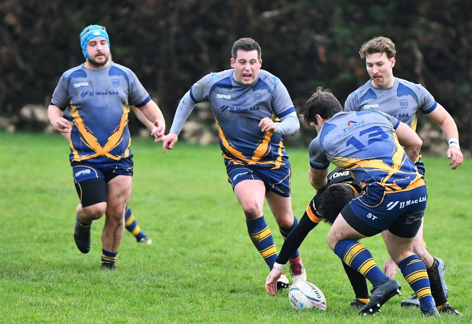 RUGBY UNION: Bourne find a way to win against tough opponents