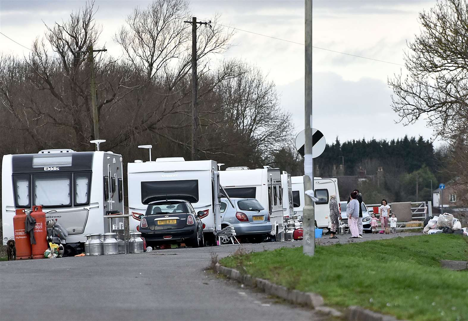 Travellers facing court action