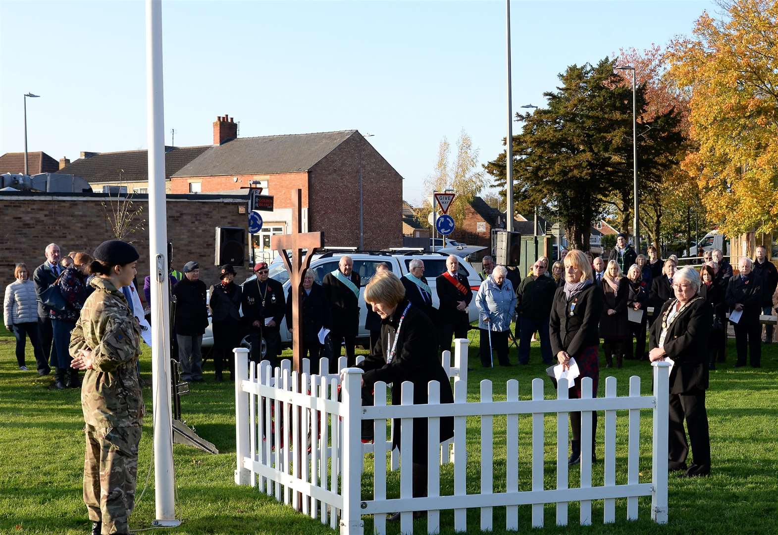 Towns across South Kesteven pay tribute for service