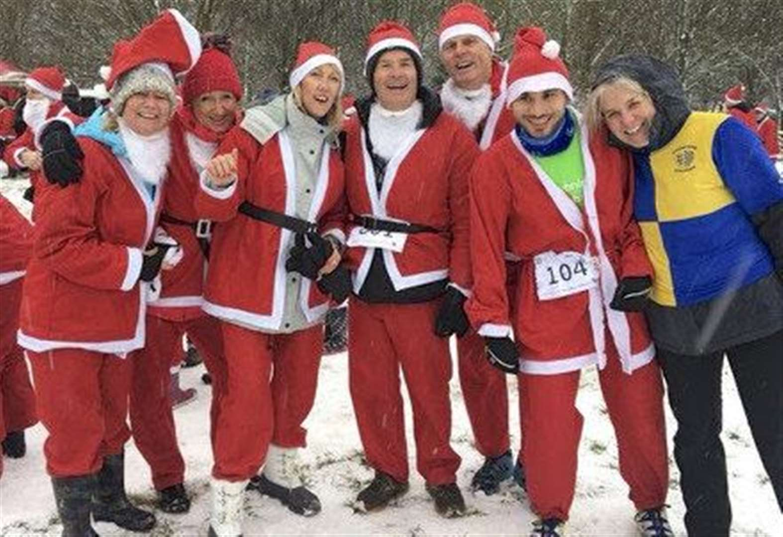 Sign up for Santa run