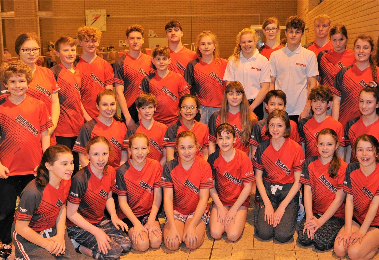 SWIMMING: Juniors step up to the mark at county championship