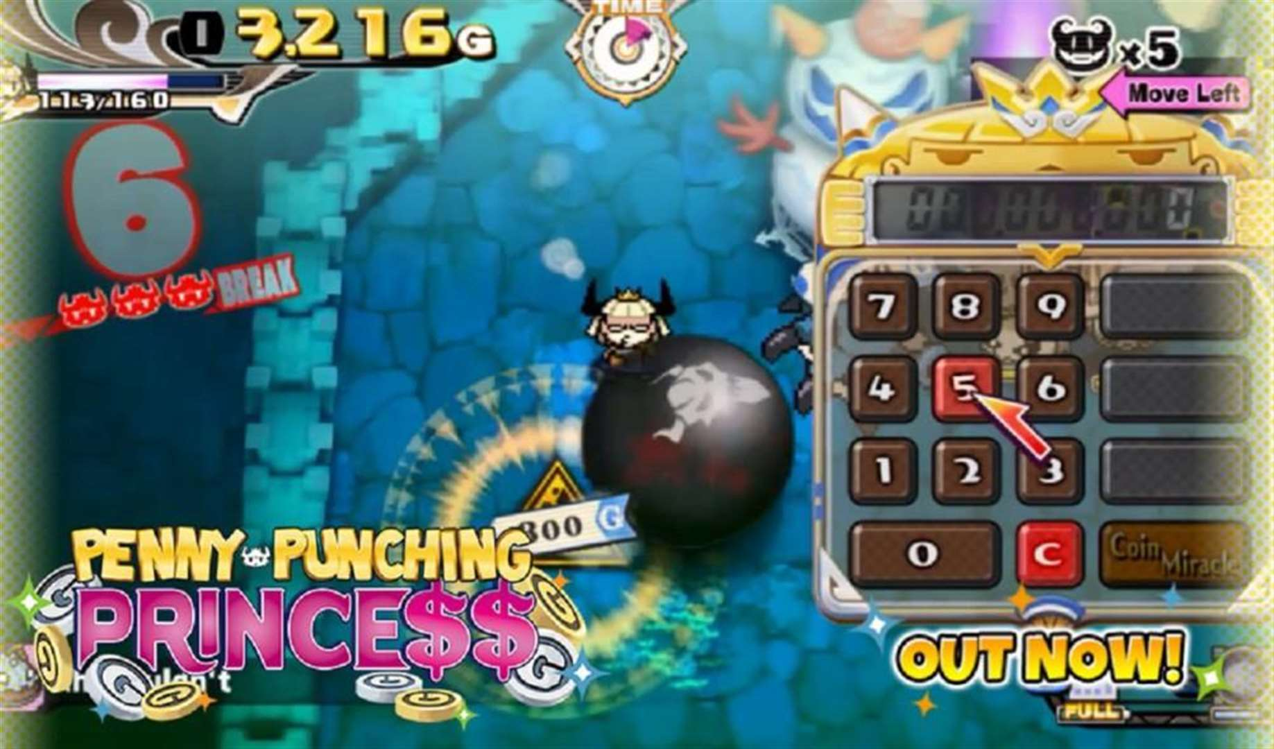 Console Corner: Penny Punching Princess Nintendo Switch review