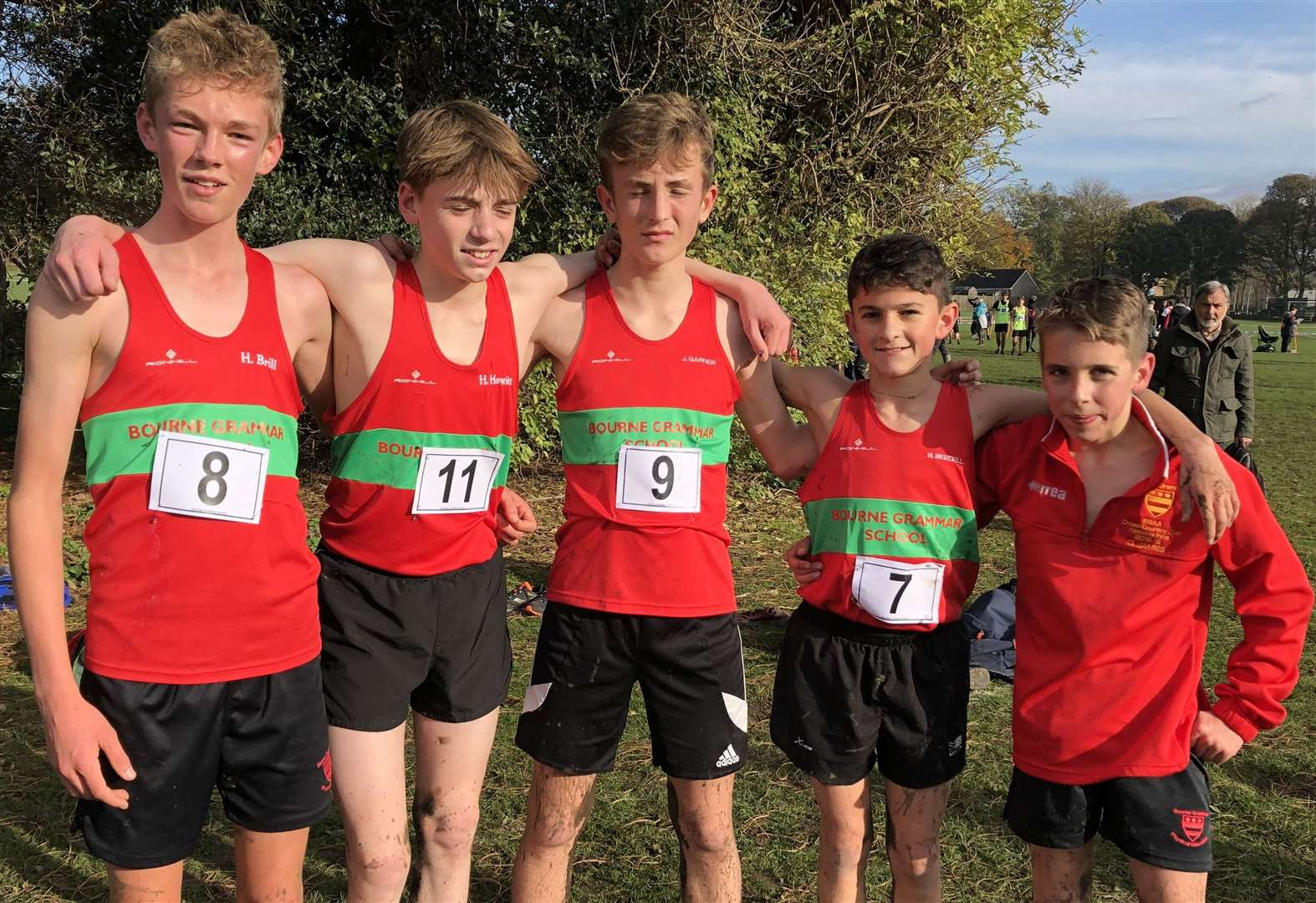 CROSS COUNTRY: Harry heads field to reach national final