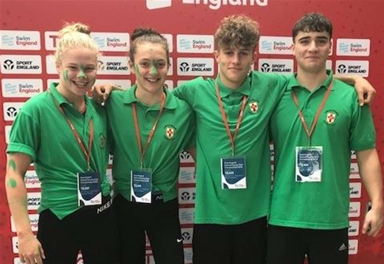 SWIMMING: Louis smashes 17-year-old club record as quartet shine for county