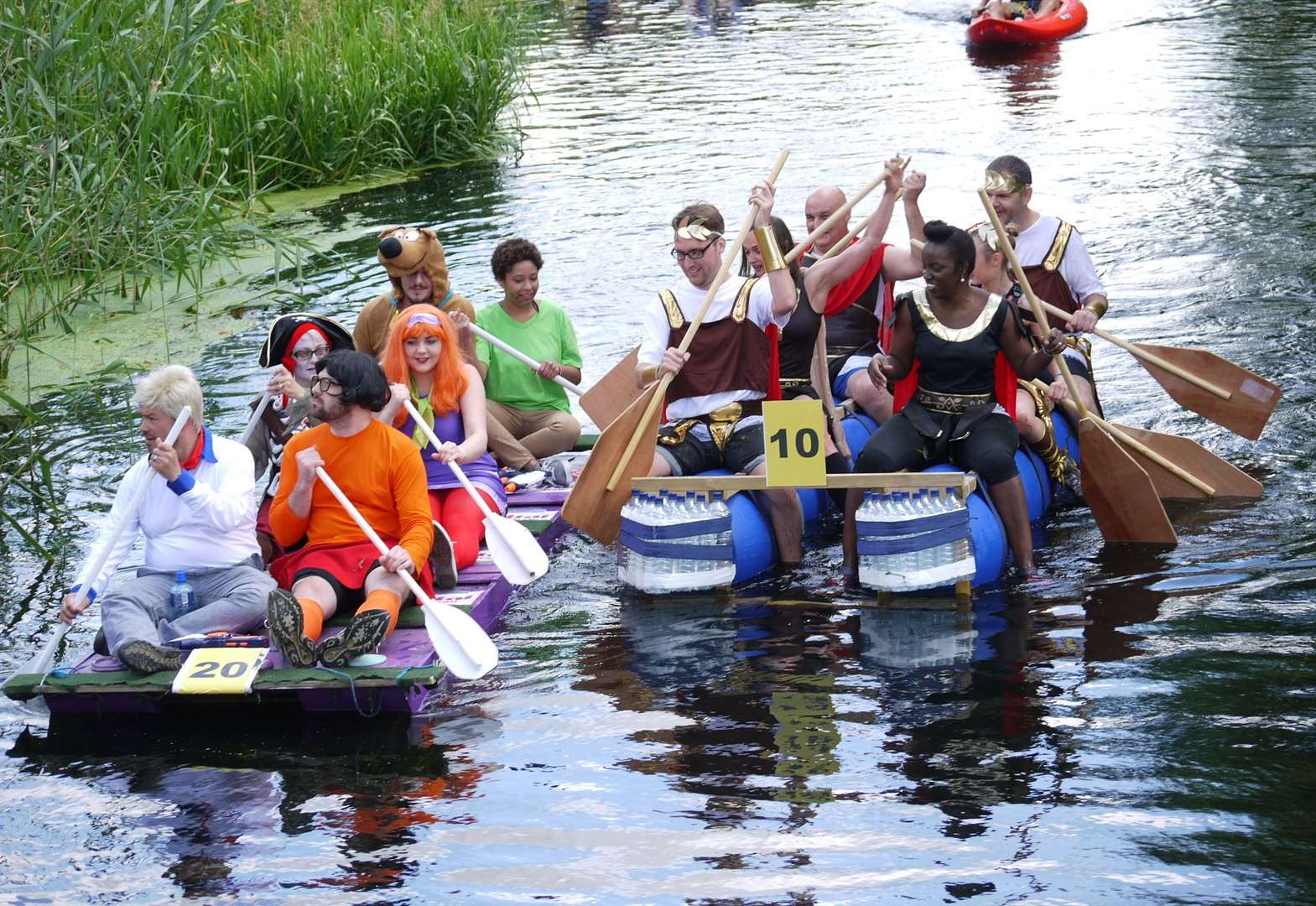 Deepings Raft Race will have a Mardi Gras theme