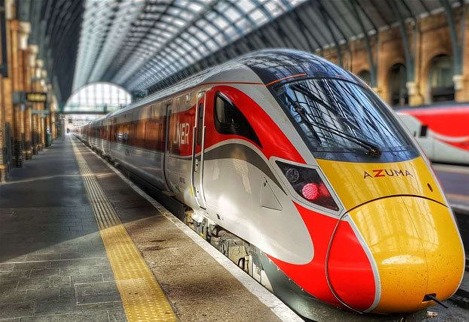South Kesteven now linked by futuristic Azuma locomotive that look like Japanese bullet trains