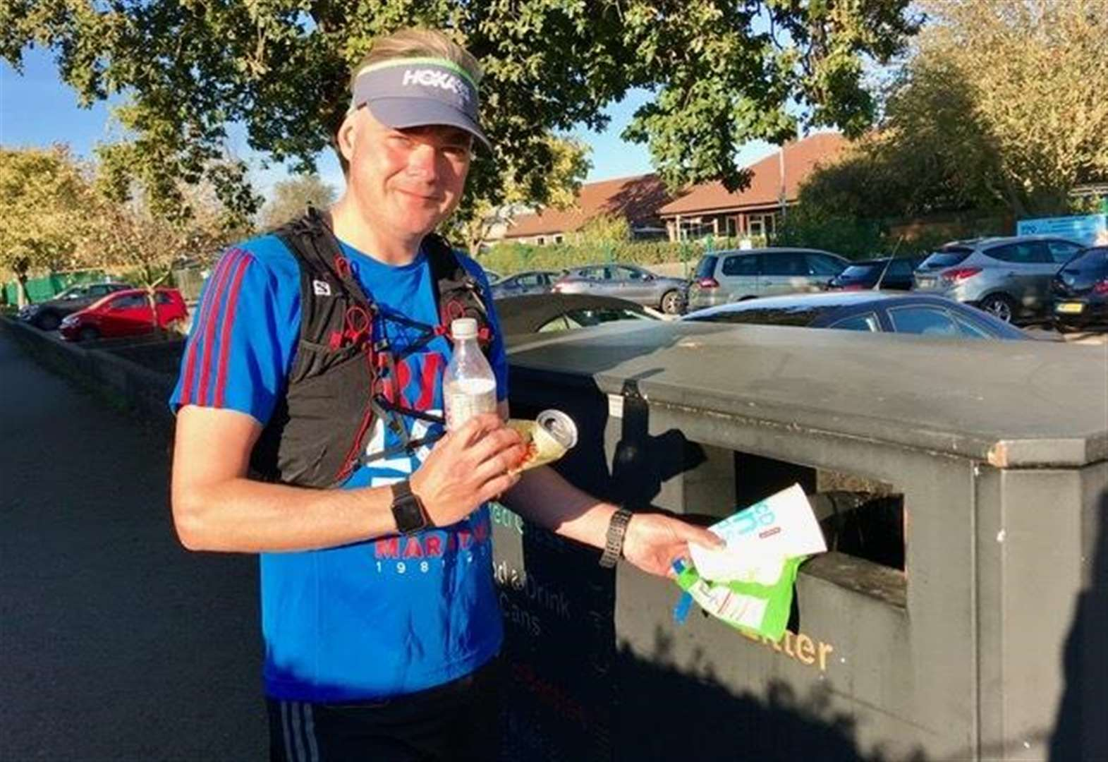 Eco-runner blazes rubbish trail