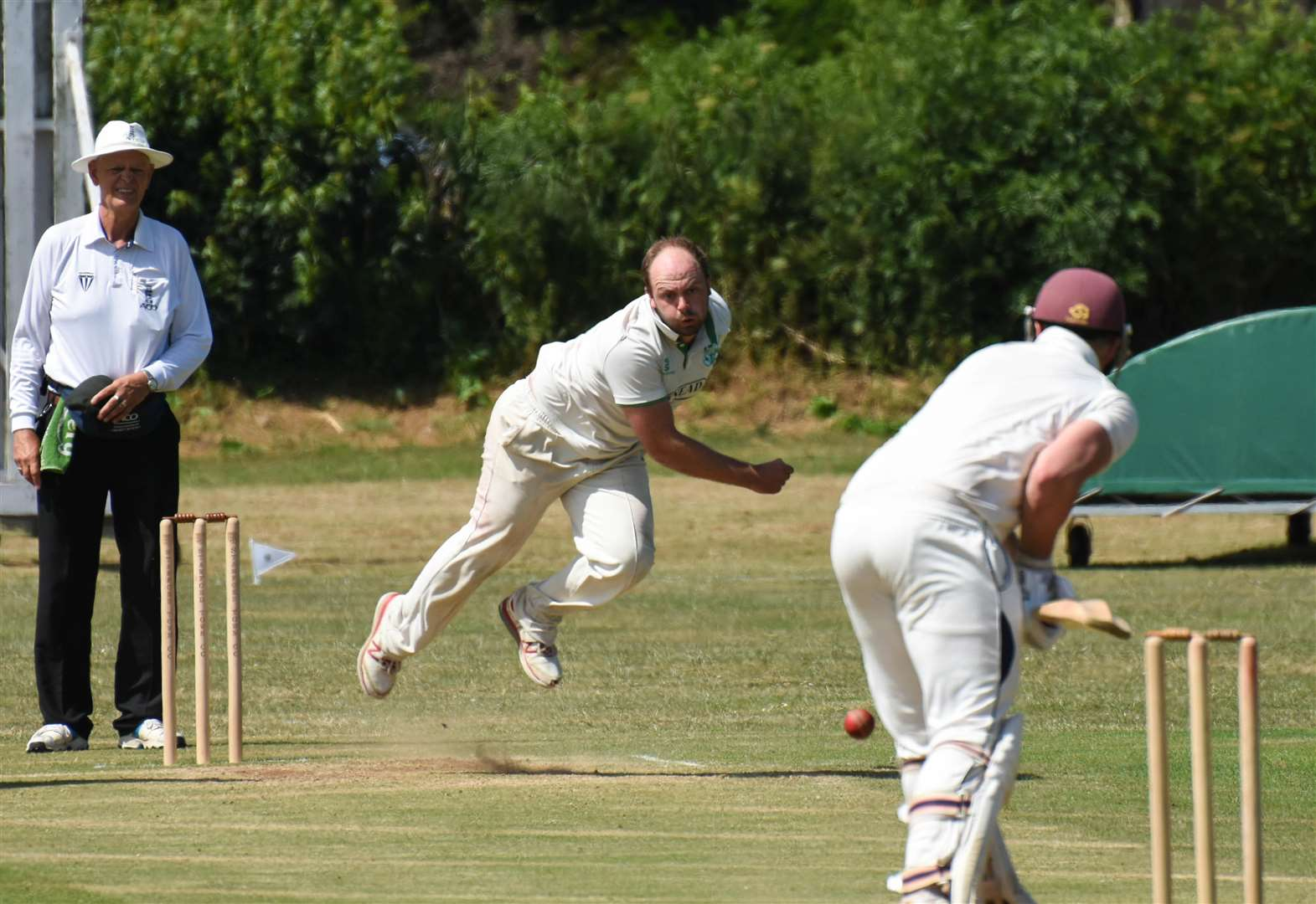 CRICKET: Baston bounce back to maintain promotion push