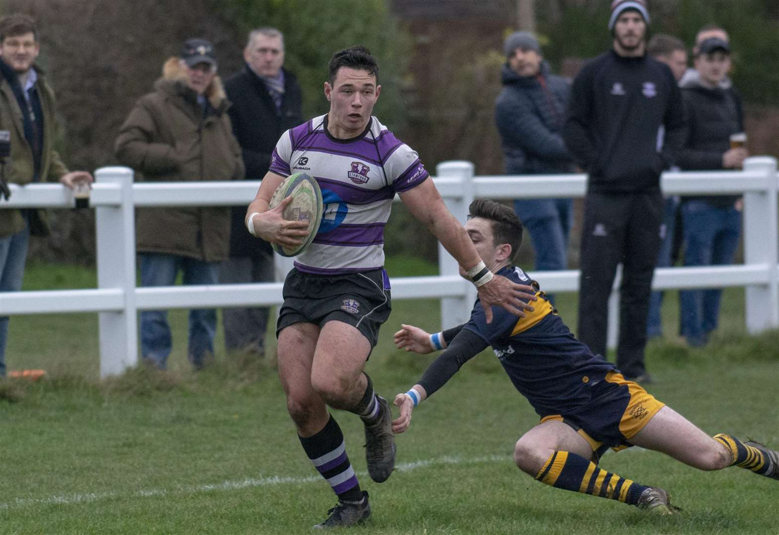 RUGBY UNION: Derby delight sees Stamford secure sixth successive bonus point victory