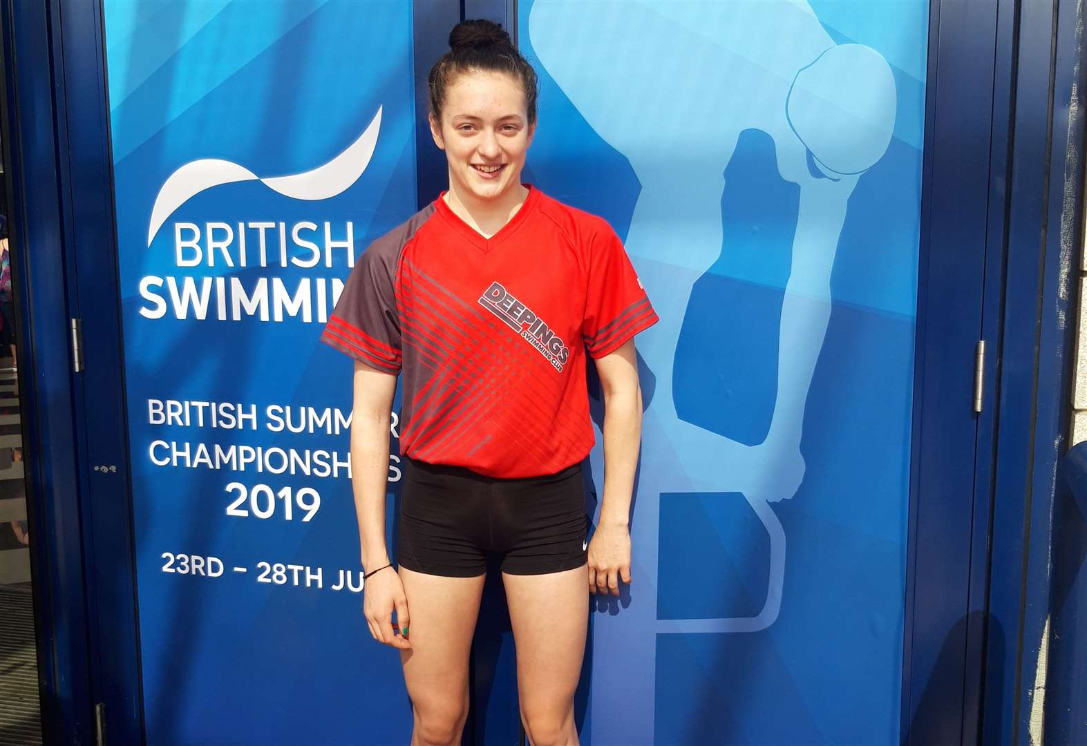 Deepings swimmer competes for first time at 2019 British Swimming Summer Championships