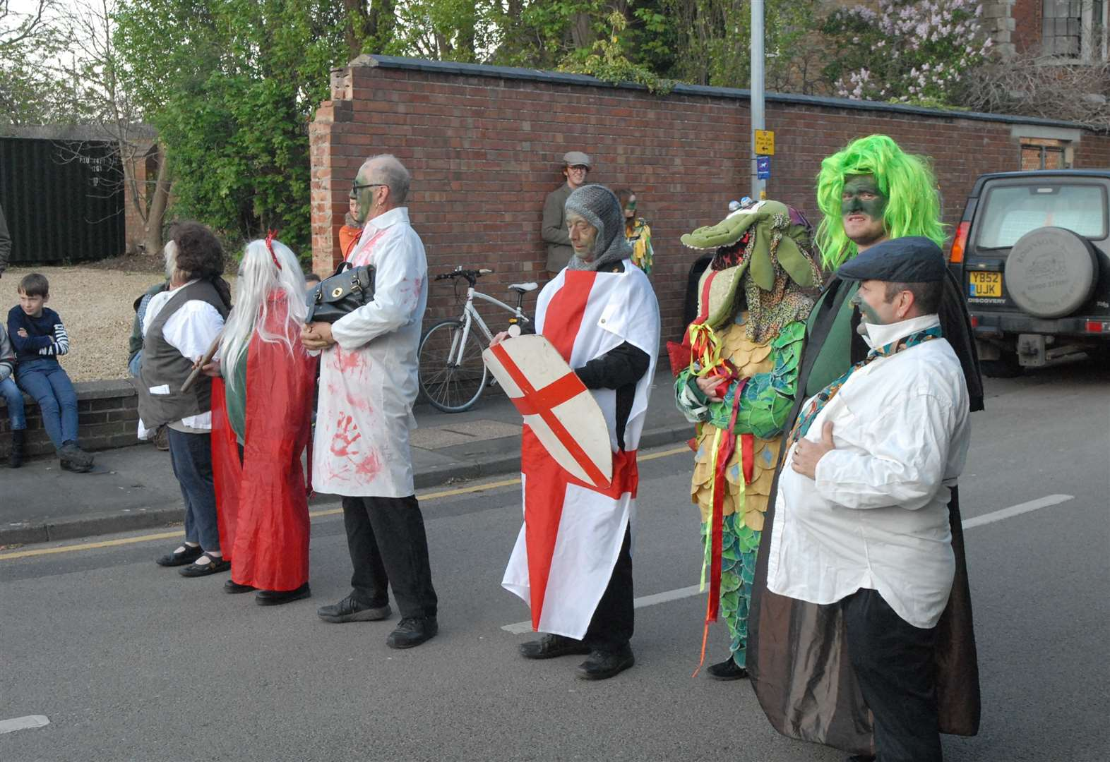 Traditional event in Bourne raises the dough
