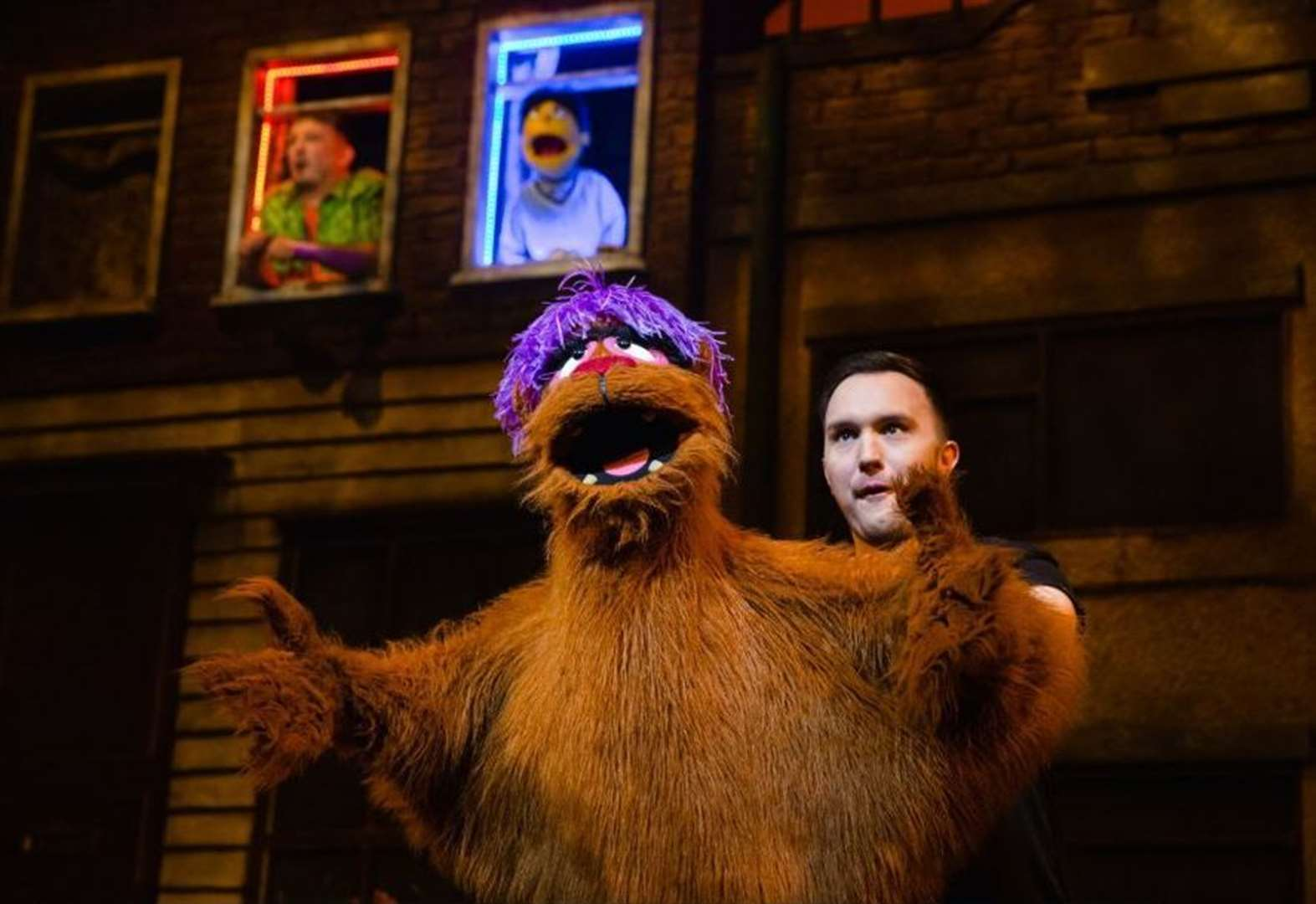 Our review of Avenue Q at New Theatre in Peterborough