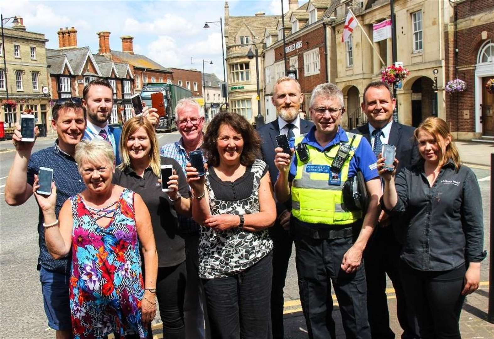 Bourne businesses work together to beat crime