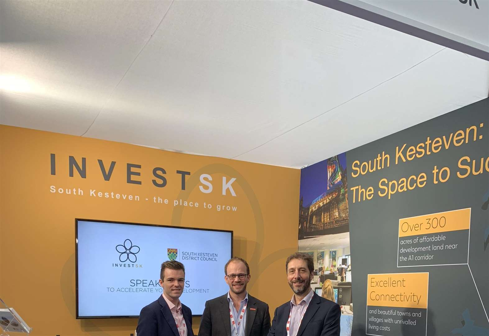 South Kesteven showcased at top UK property event