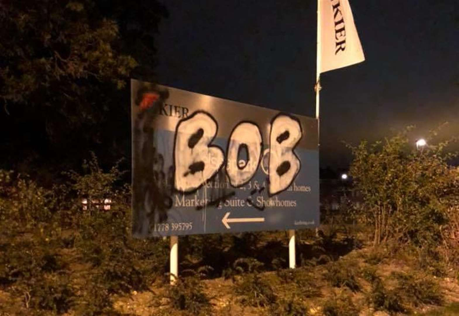 "Bourne man charged with ""Bob"" vandalism"
