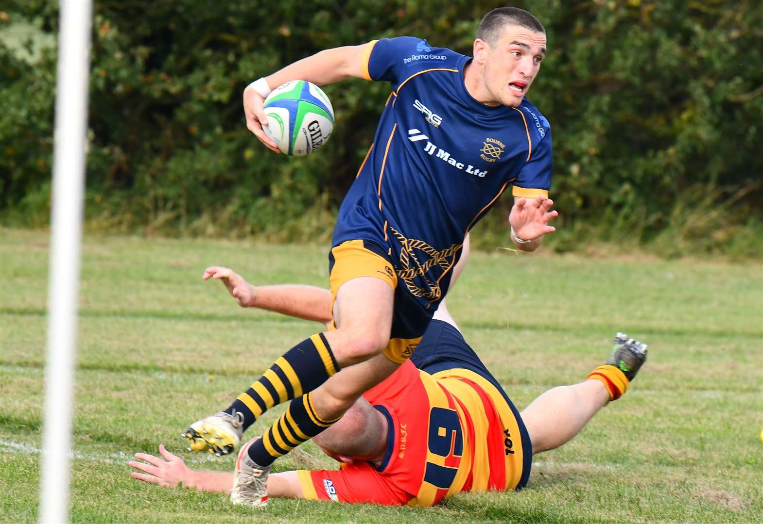 RUGBY UNION: Four tries by Colangelo to set up big win