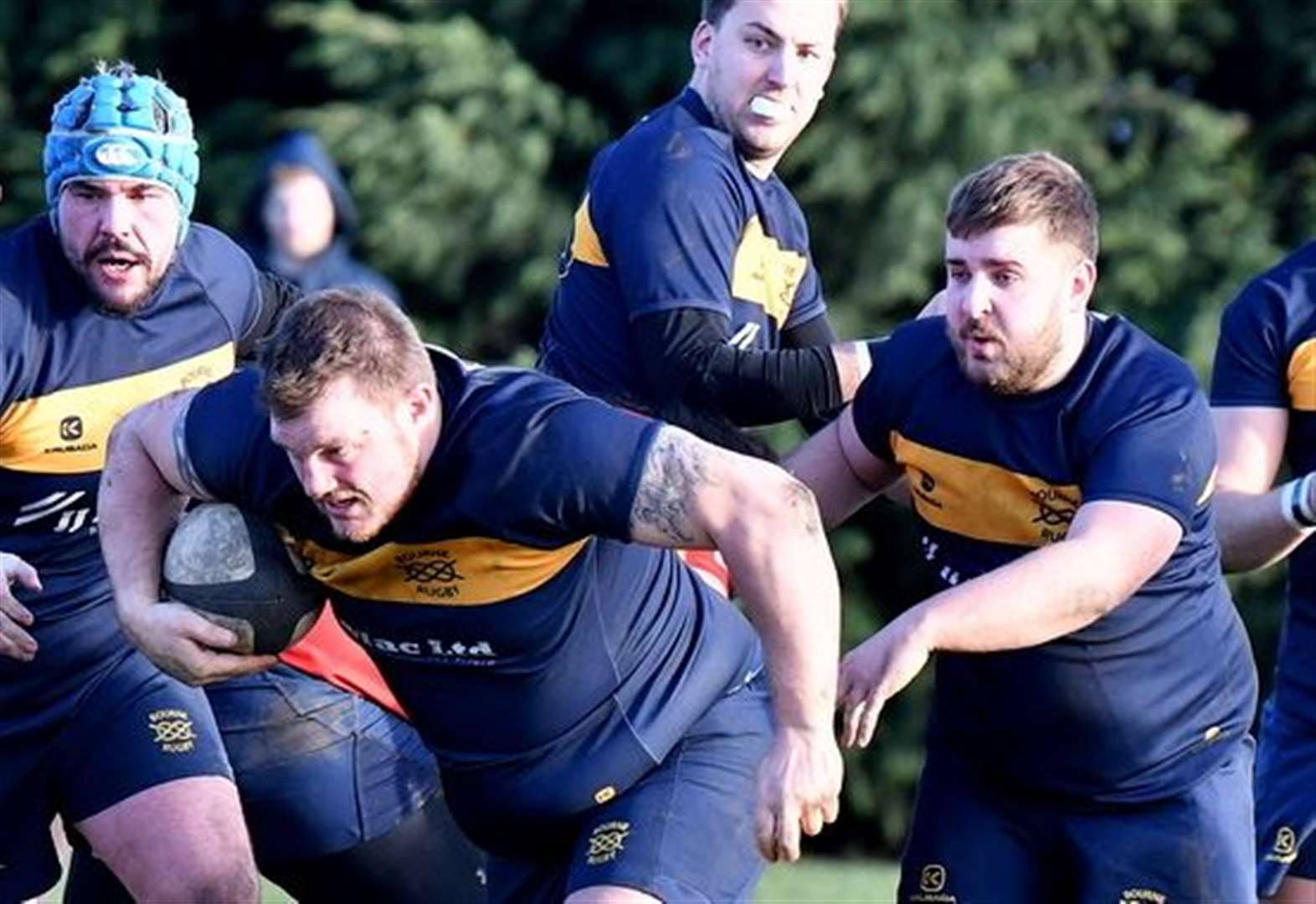 RUGBY UNION: Moore is star man in Bourne's away win