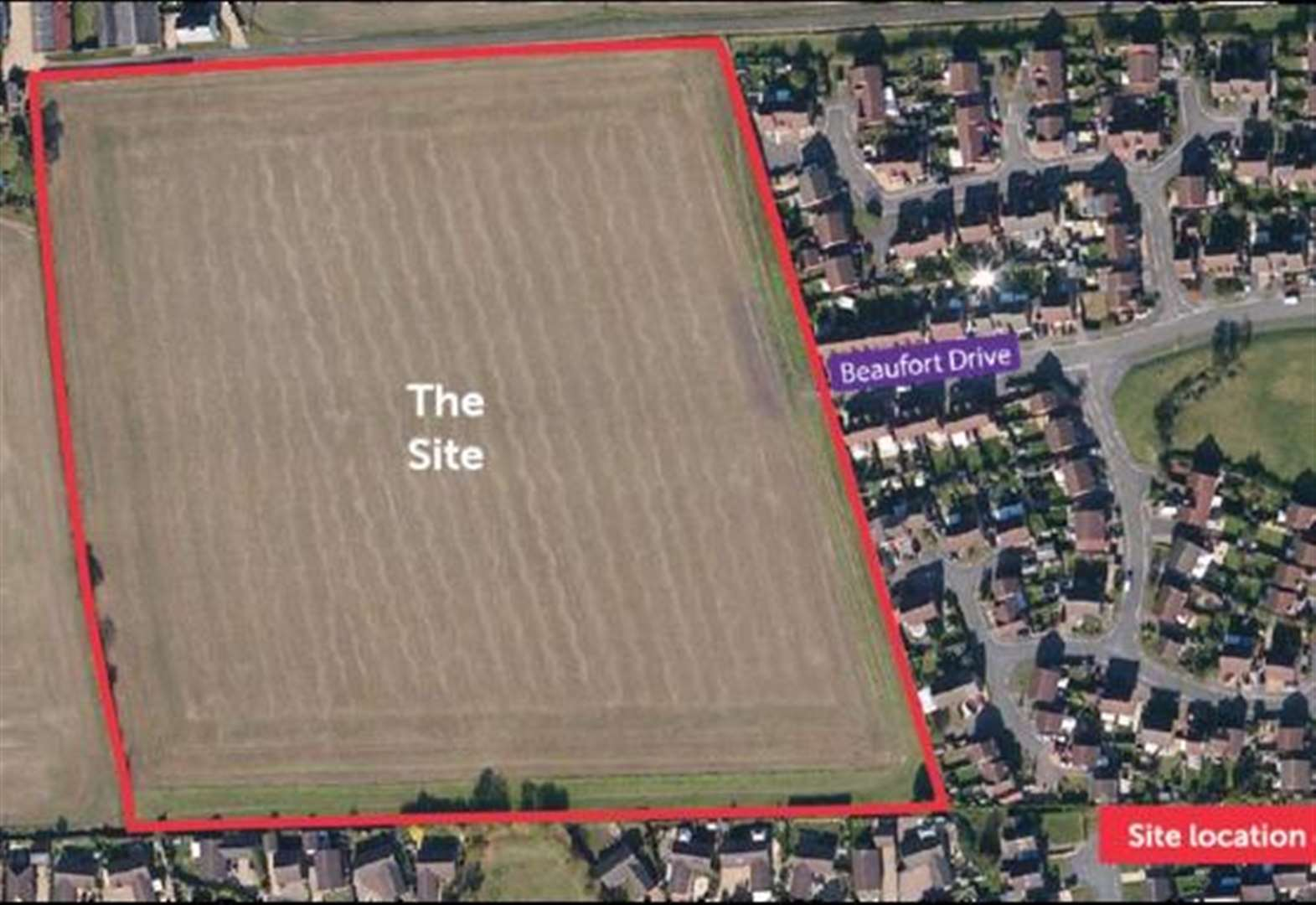 Have your say on town's 110-home development