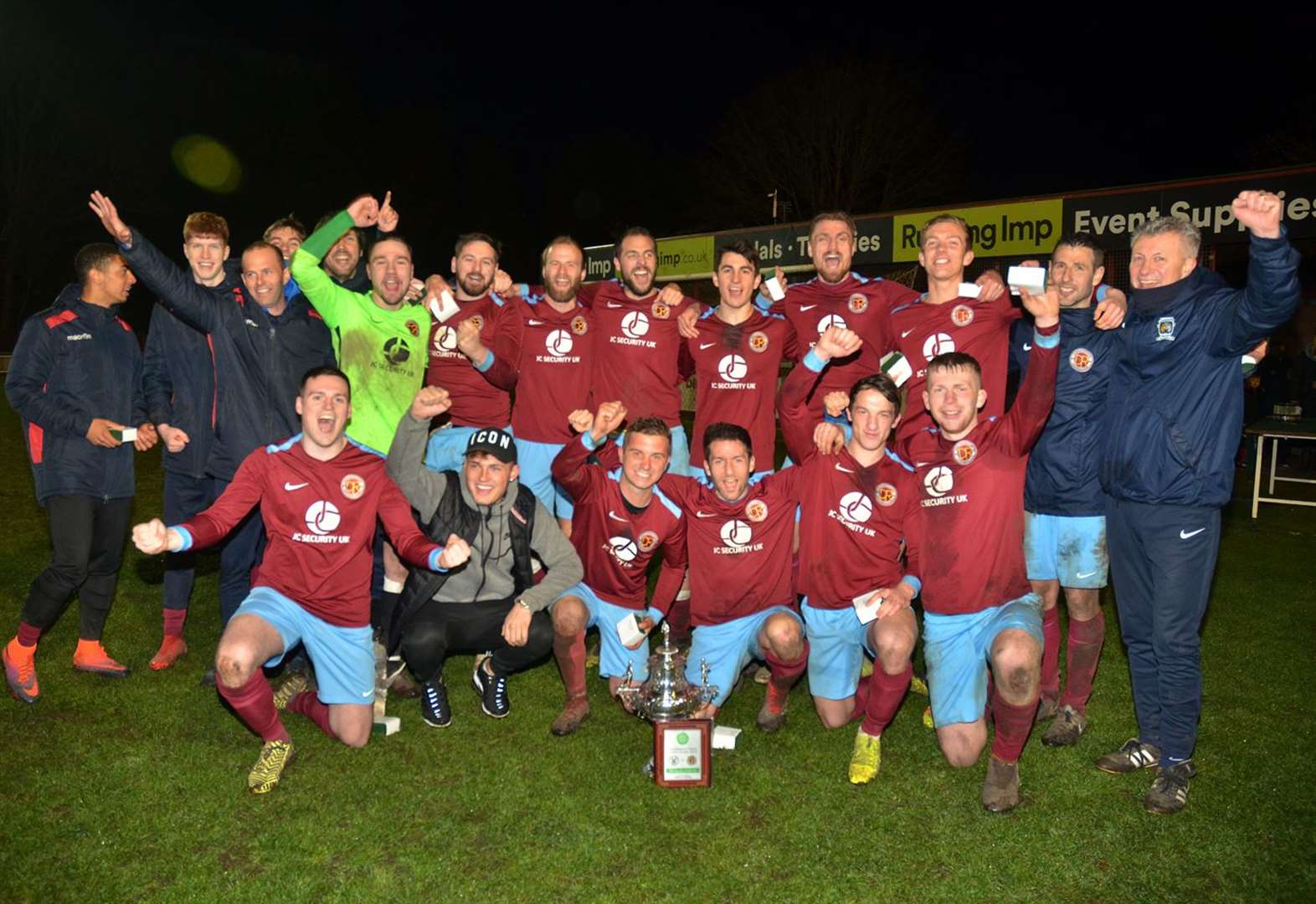 FOOTBALL: Clarets crowned county champions after shoot-out success