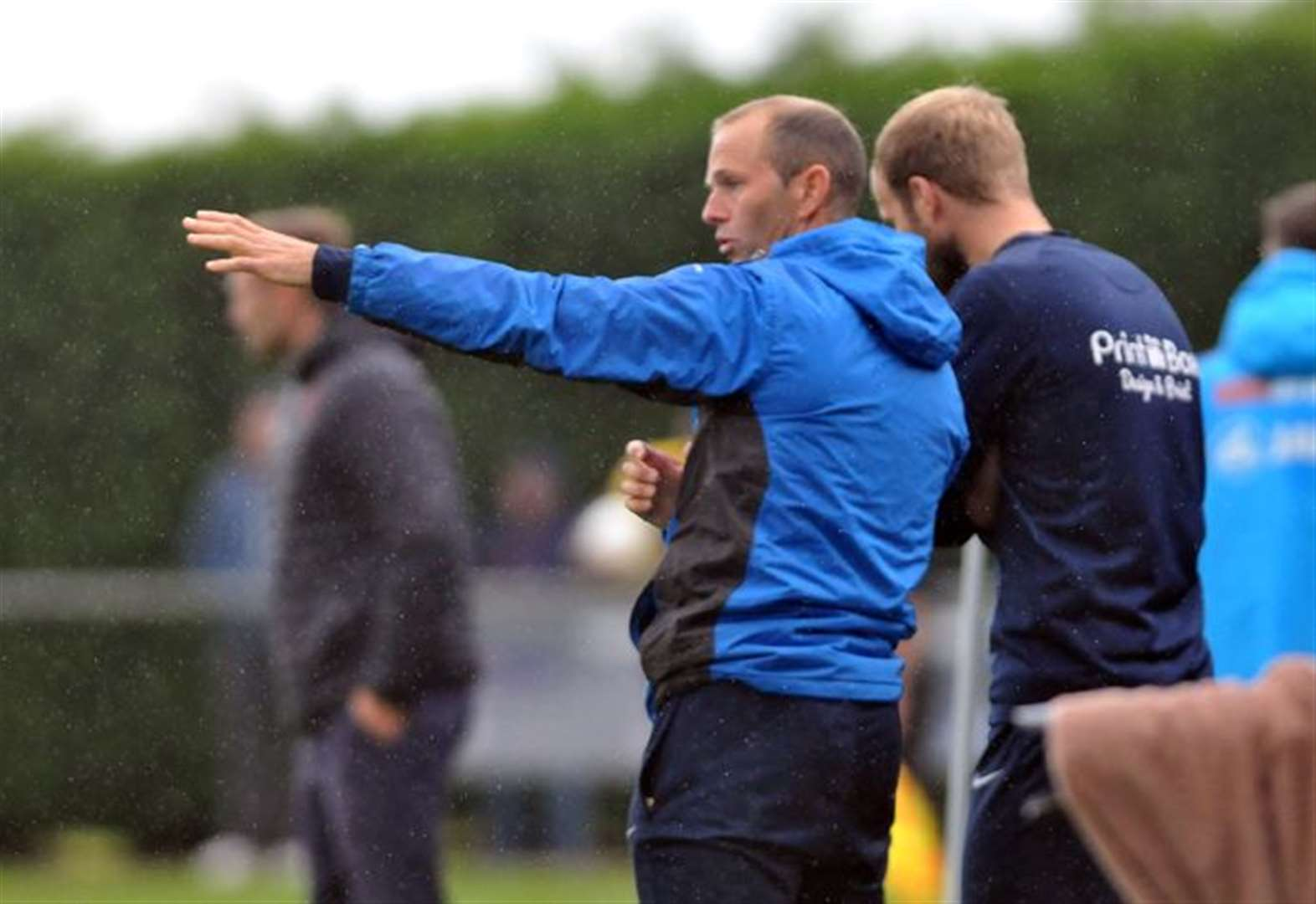 FOOTBALL: Goode aims to better brilliant season after agreeing to stay at Deeping helm