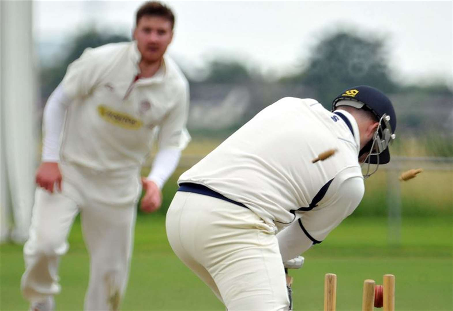 Four-some showing from Bourne bowlers keeps Seconds in top spot