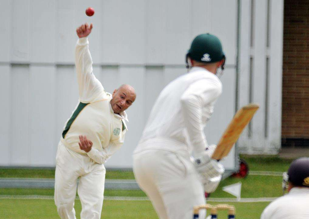 Mehul Adatia took four wickets for Deeping on Saturday in their home loss against Grantham. Photo: TIM WILSON (2575738)