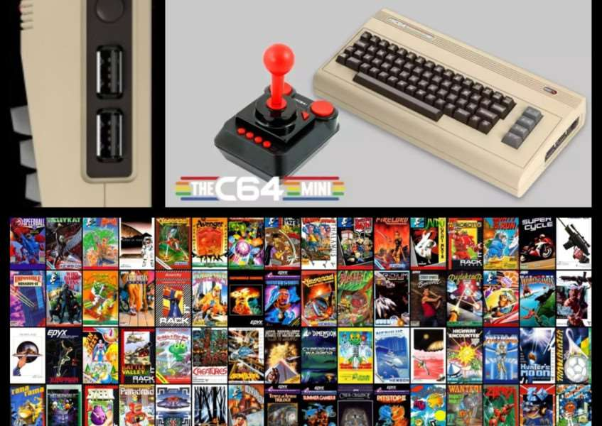 THEC64 Mini launched on March 29 and retails at �69.99