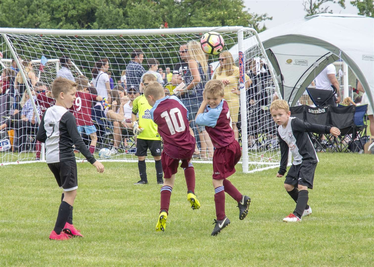 Bourne Town Juniors' six-a-side tournament. Photo: Lee Hellwing (2248052)